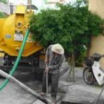 Chuyên hút bể phốt tại xã Đông Tiến