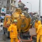 Chuyên hút bể phốt tại xã Đông Phong