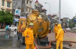 hút bể phốt tại xã Đông Phong