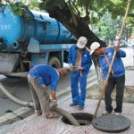 Dịch vụ hút bể phốt tại xã Cảnh Hưng