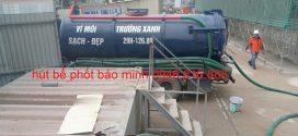Thông tắc cống hút bể phốt tại kcn Yên Phong