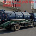 Dịch vụ hút bể phốt tại Yên Phong xe phân khối lớn được tính thế nào?