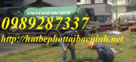 Dịch vụ hút bể phốt tại huyện thuận thành
